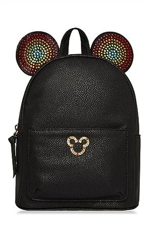 PRIMARK Mujer Chica para Mujer Disney mickey Mouse Arco Isis Orejas Black Mochila Mochila Se Vende según PENTA06: Amazon.es: Equipaje