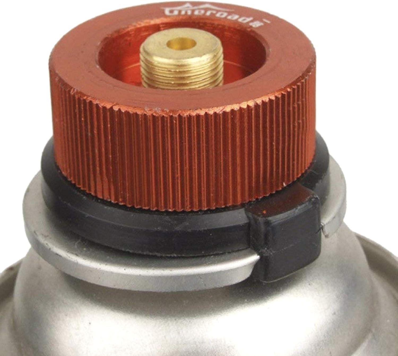 ZXYAN 34 x 37 mm Conector de la Estufa Adaptador de la Botella de Gas Acampar al Aire Libre