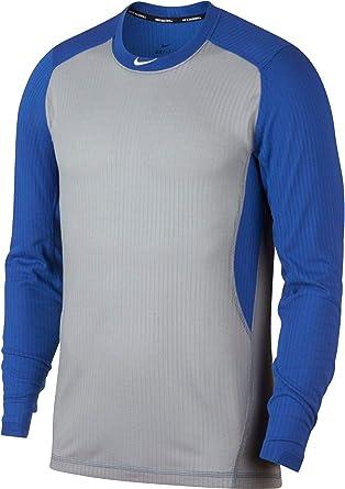 Interesante Vadear barco  Amazon.com: Nike - Camiseta de béisbol de manga larga para hombre, Azul, M:  Clothing