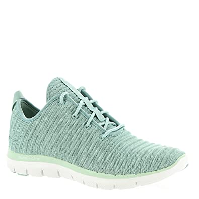 Skechers Flex Appeal 2.0 Estates Womens Sneakers Sage 7.5  Amazon.de ... e614d3dc82