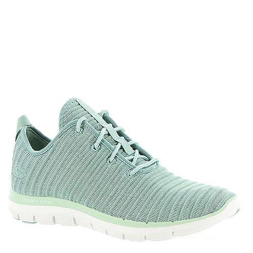 e51e21b7b4d Skechers Women s Flex Appeal 2.0-Estates Sage Sneakers-6 UK India ...