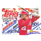 2021 Topps Series 1 MLB Baseball EXCLUSIVE Factory Sealed Blaster Box with 98 Cards & SPECIAL Topps 70th Anniversary PATCH RE