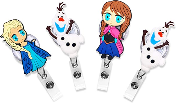 Amazon Com Finex Frozen Princess Elsa Anna Olaf Set Of 4