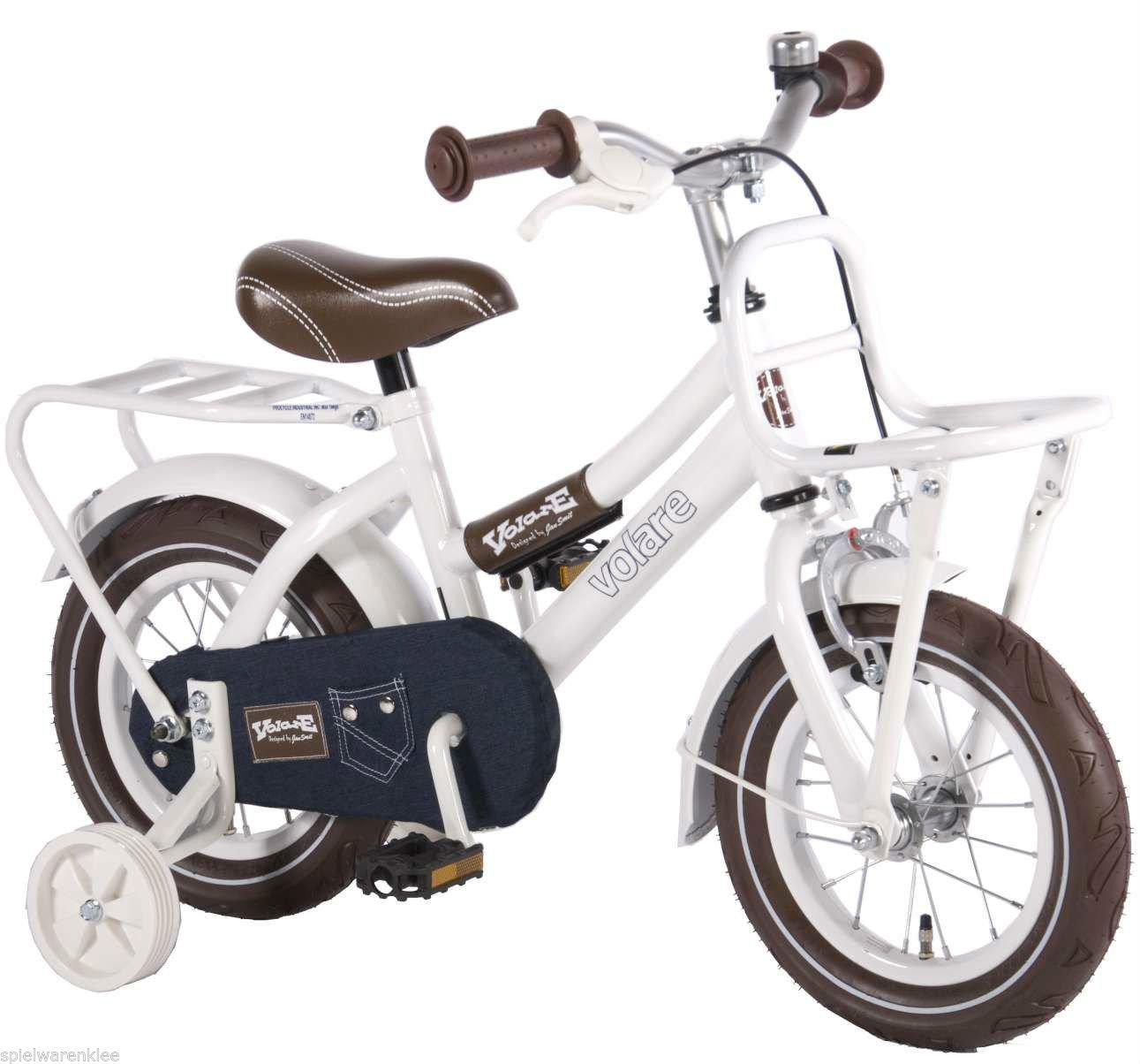 12 Zoll Qualitäts Kinderfahrrad Holland Style Fahrrad mit Stützräder bike 41237