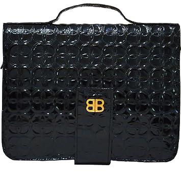 Amazon.com: Bagabook Negro de diseño, libro diario notendar ...