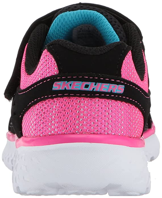 Skechers Go Run 400 81358LBKHP, Basket, Noir, 28 EU