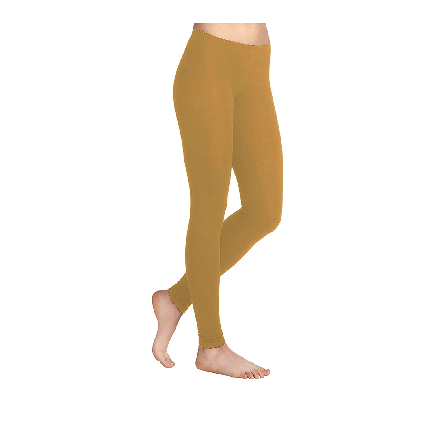 LessThanTenQuid Missloved ™ Plain Stretchy Viscose Lycra Leggings Sizes UK 8-26 * 30 Colours*
