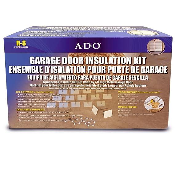 Single Garage Door Insulation Kit   Garage Door Hardware   Amazon.com