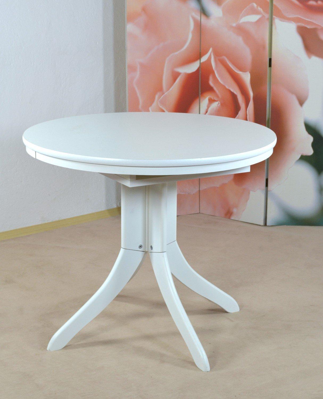 Bistrotisch Rom Farbe: Weiß: Amazon.de: Küche & Haushalt