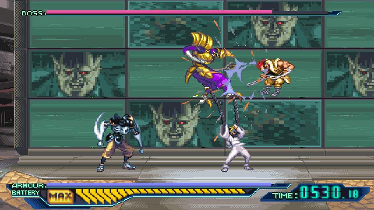 The Ninja Saviors: Return Of The Warriors For Nintendo ...