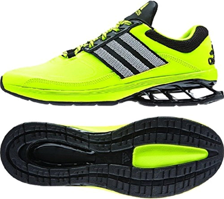 Nueva Adidas Pista Zapatillas de Running Negro/Plata Metalizado 7.5: Amazon.es: Zapatos y complementos