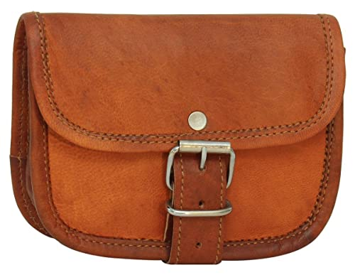 f0f0614198 Gusti Cuir nature - Sac ceinture en cuir Ronan Portefeuille ceinture vintage  Marron G4