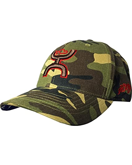 4bf00befcb6 HOOey Men s Camo Chris Kyle Adjustable Baseball Cap Camouflage One Size