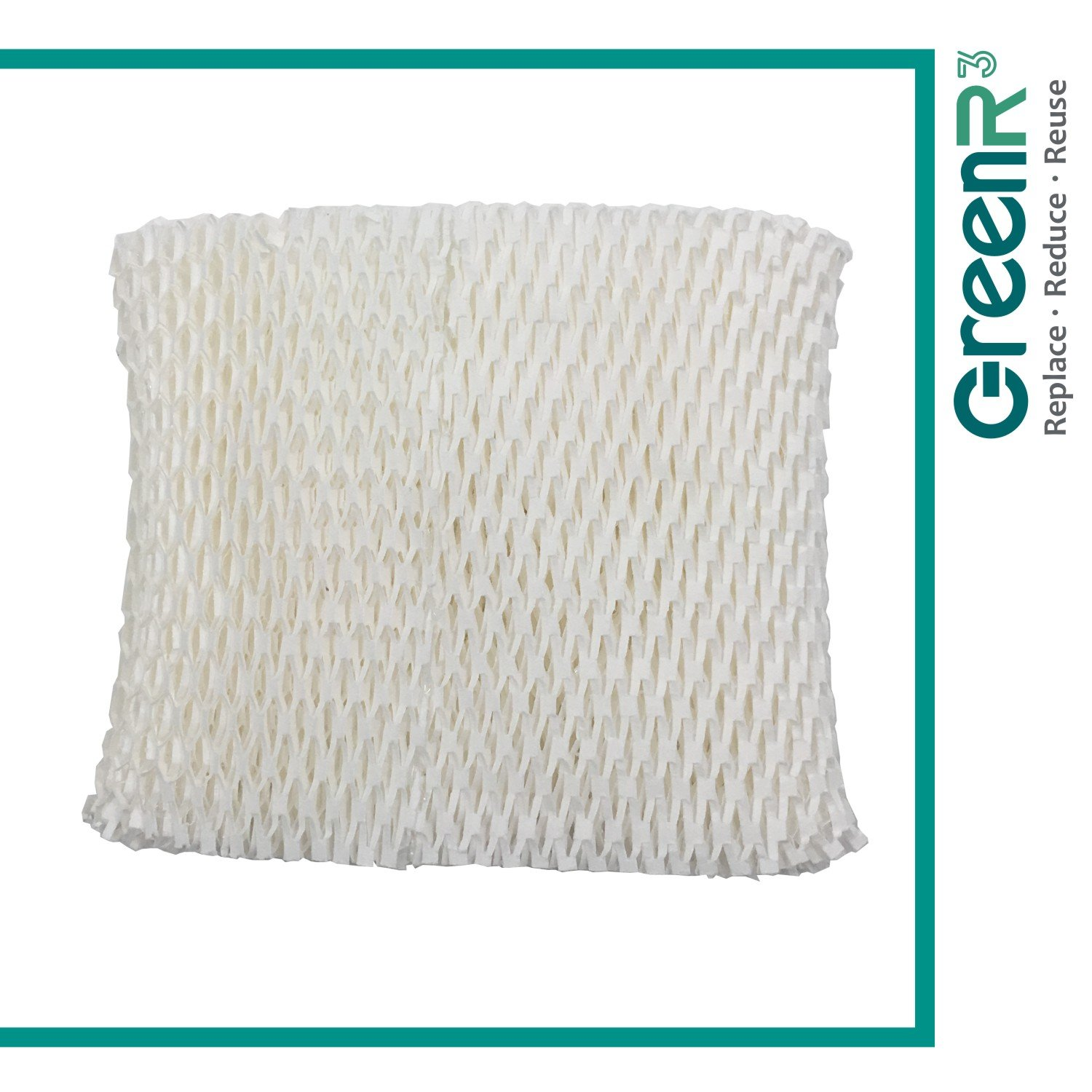 GreenR3 1-PACK Wick Filters Humidifiers For Honeywell HC-888 fits HCM890 HCM890C HCM890-20 HCM-890 HCM-890-C HCM-890-20 Duracraft DCM200 HCM890 DH888 DH890 DH890C AC-888 Best Air D88 and more Compatible