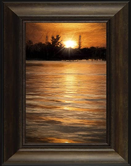 Amazon.com: Sparkling Shimmer By Todd Thunstedt 26x20 Fog ...