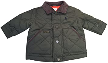 0077b38eeeef Image Unavailable. Image not available for. Color  Polo by Ralph Lauren  Baby Boy Logo Hagan Quilted Jacket ...