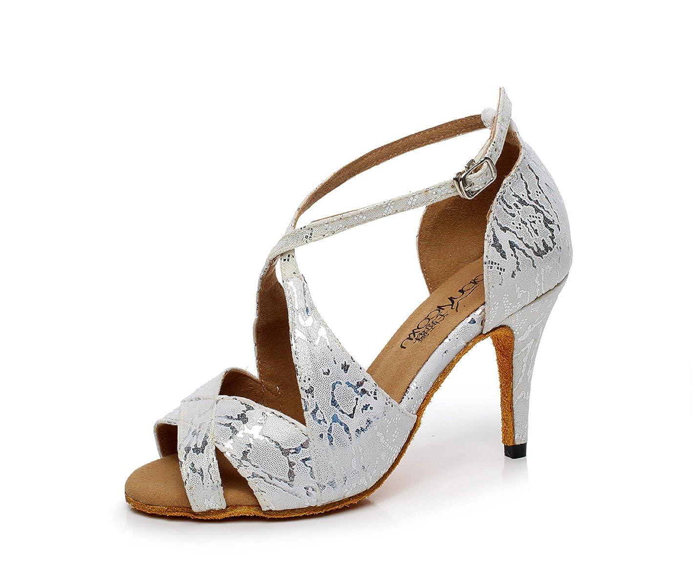 JSHOE Chaussures De 19918 Danse B078WJRKQL Latine pour Femme Salsa Chaussures/Tango/ Thé/Samba/ Moderne/Jazz Chaussures Sandales Talons Hauts,Grey-heeled8.5cm-UK7/EU41/Our42 - e2d59be - automaticcouplings.space