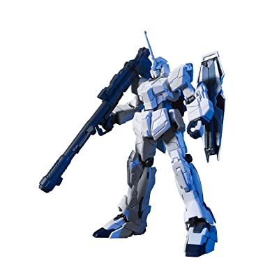 Bandai Hobby #101 RX-0 Unicorn Gundam (Unicorn Mode), Bandai HGUC Action Figure: Toys & Games