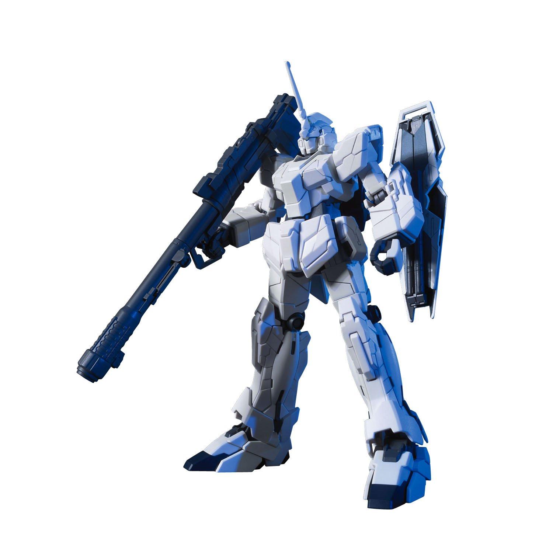 Unicorn Mode Bandai HGUC Action Figure Bluefin Distribution Toys BAN161012 Bandai Hobby #101 RX-0 UNICORN GUNDAM