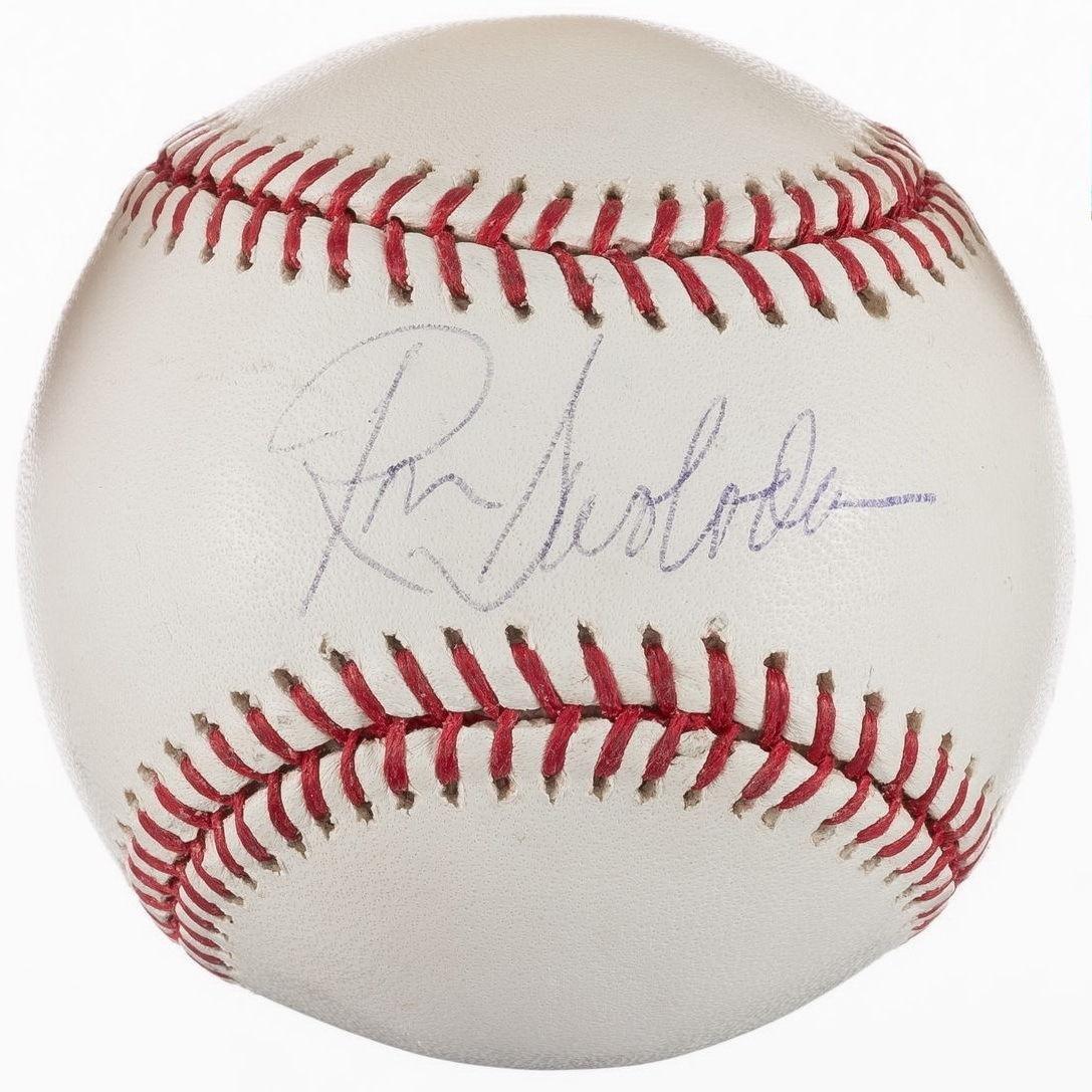 Signed Ron Swoboda Baseball - Selig Oml N y Mets Montreal Expos - Autographed Baseballs