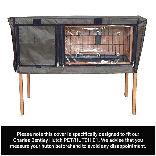 Charles Bentley Guinea Cerda & Conejera Cubierta Jaula Hutch.01 ...