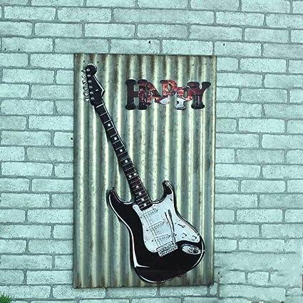 Decoración De La Guitarra De Hierro, Decoración De La Pared, Sala De Pintura De
