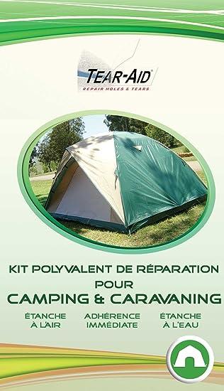 Tear-Aid – Kit polivalente de reparación instantánea y sin collanti para cortinas, bolsas