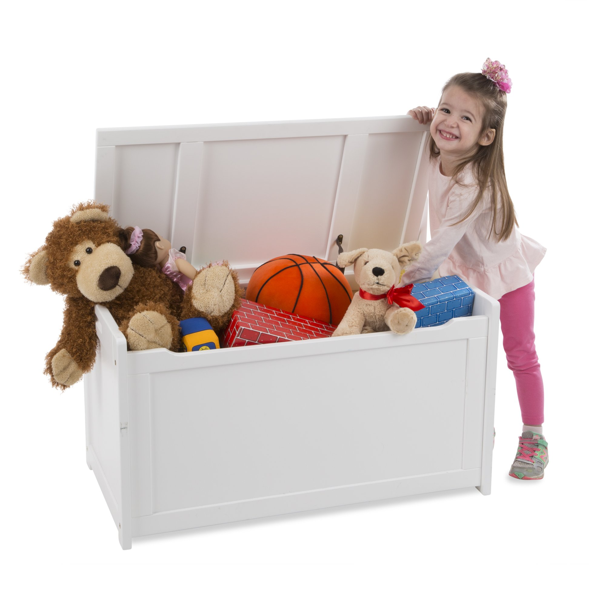 Melissa & Doug Toy Chest - White Children's Furniture by Melissa & Doug (Image #2)