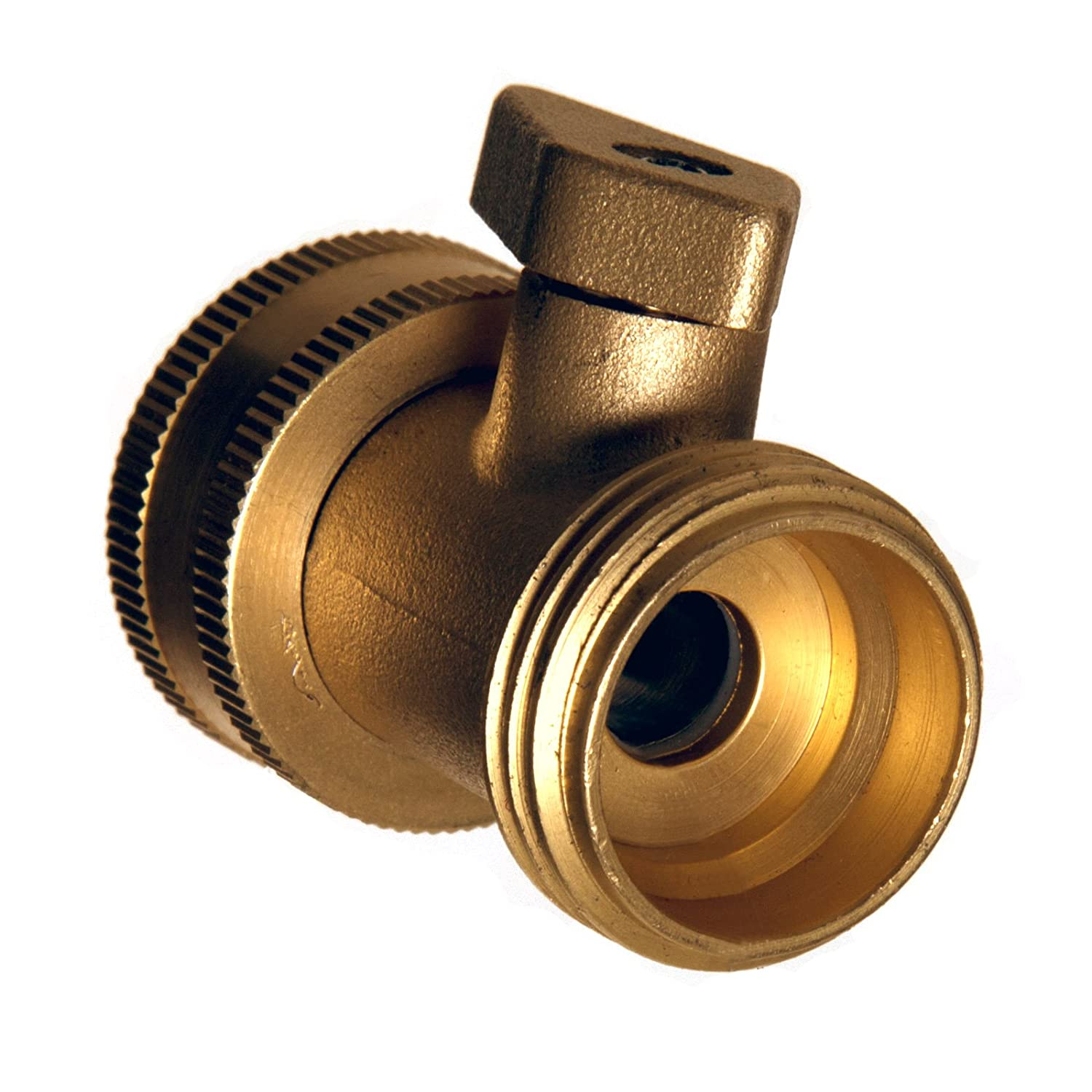 Amazon.com : MINTCRAFT GB9111A3L Brass Garden Hose Shut Off : Garden ...