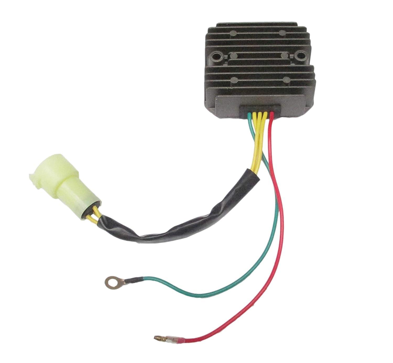 Voltage Regulator Rectifier For Honda TRX 300/TRX 300 FW Fourtrax Foreman 1993-2000 Repl.# 31600-HC5-970 31600-HM5-630