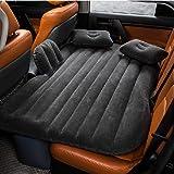 車中泊マット- Kilolone エアーマット エアーベット 電動ポンプ付き-分離可能 車載用マットアウトドア ベッドキット キャンプ用 後部座席用(SUV/MPV/セダン車専用)