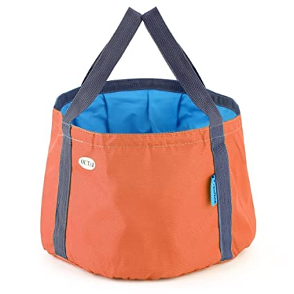 Bolsas de agua Acampada y senderismo ONEVER OUTAD excursi¨n Que acampa Que acampa Portable Plegable Cubo Cubo Bolsa Pesca