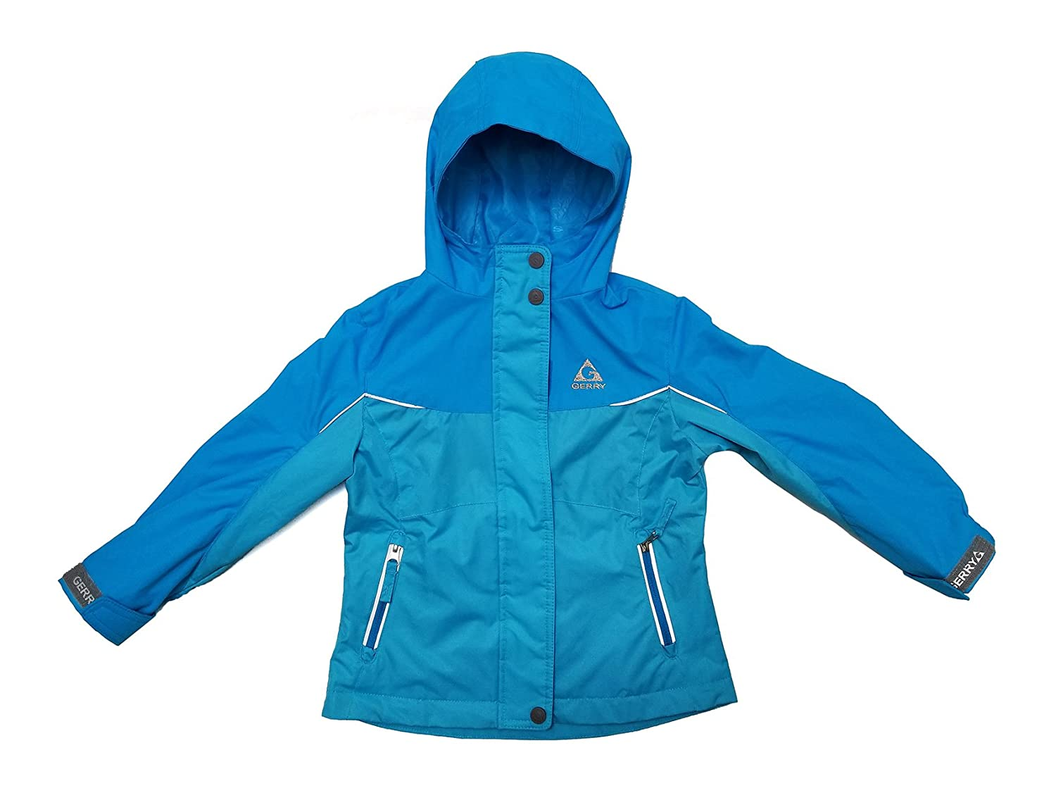 Gerry Girl's Weather Rain and Wind Resistant Performance Jacket - Blue