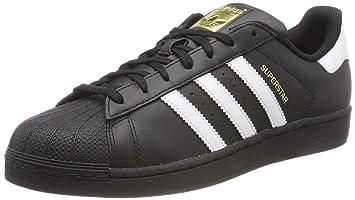 89352c34 adidas Originals Superstar, Zapatillas Unisex Adulto, Negro (Core  Black/ftwr White/