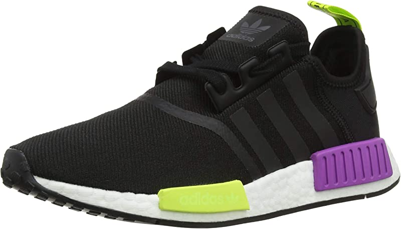 adidas NMD Sneakers Laufschuhe Herren Schwarz Gelb Lila