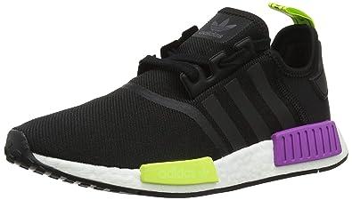 separation shoes 0b9a7 273f9 Amazon.com | adidas Men's NMD_R1, CORE Black/CORE Black ...