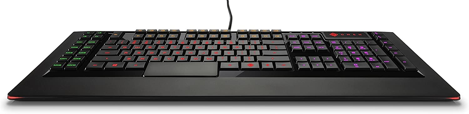 Omen By Hp Wired Usb Gaming Keyboard With Steelseries Computers Accessories