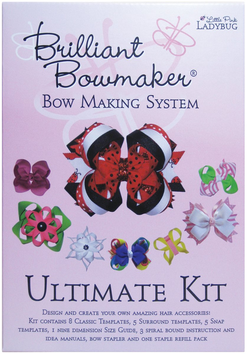 Little Pink Ladybug LPL0101 Brilliant Bowmaker Ultimate Kit   B06XWBXM4B