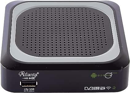 Atlanta Smart G5 Mini Receptor de satélite híbrido Android (con Control Remoto Inteligente): Amazon.es: Electrónica