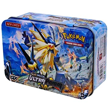 Pokemon Sun and Moon Celestial Storm 2 Extra Booster Tin Set (Multicolor)