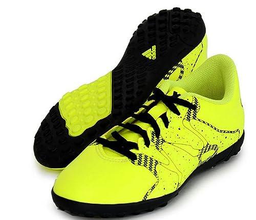 adidasX 15.4 TF - Scarpe da Calcio Ragazzi, Multicolore (Lima/Black), 28