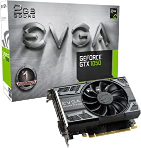 EVGA GeForce GTX 1050 Gaming, 2GB GDDR5, DX12 OSD Support (PXOC) Graphics Card 02G-P4-6150-KR