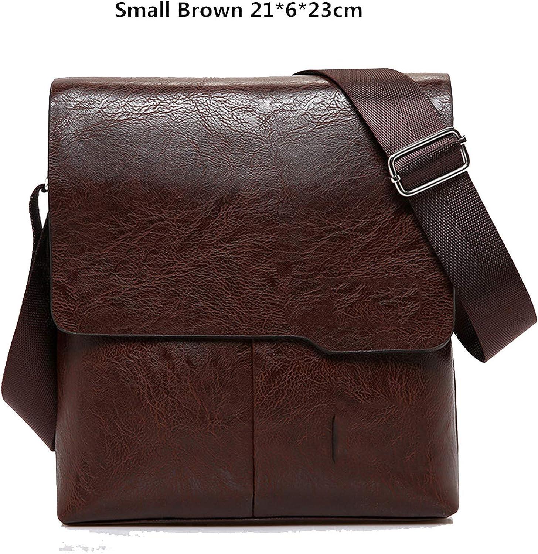 Men Tote Bags Set New Fashion Man Leather Messenger Bag Male Cross Body Shoulder Business Bags For Men