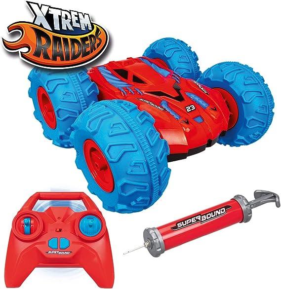 Xtrem Raiders Superbound Rc Amphibio Für Kinder Blau Rot Spielzeug
