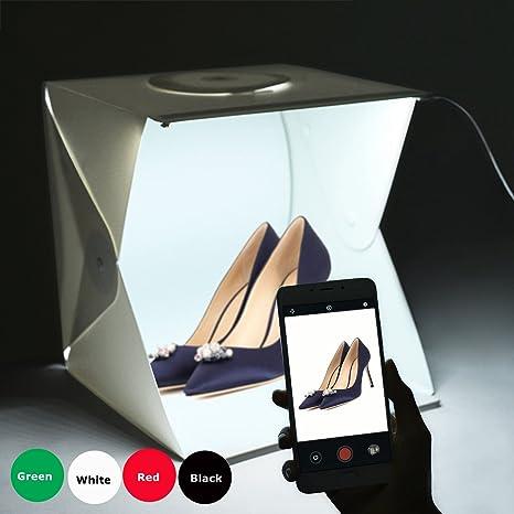 Estudio de Fotografía Mini portátil Gleading 40x40x40cm Carpa ...