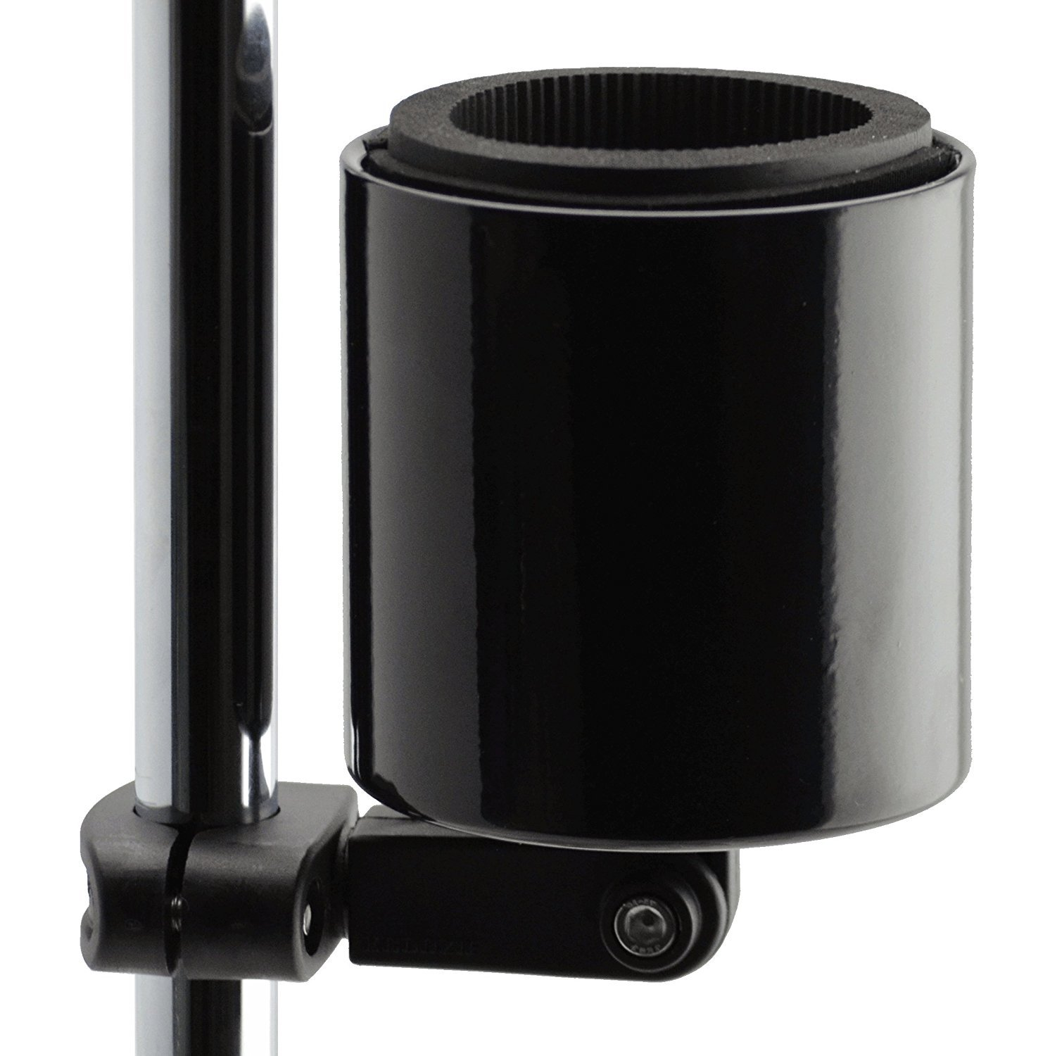 Kroozie Kroozercups Deluxe Bicycle Cup Holder 2.0 in Gloss Black