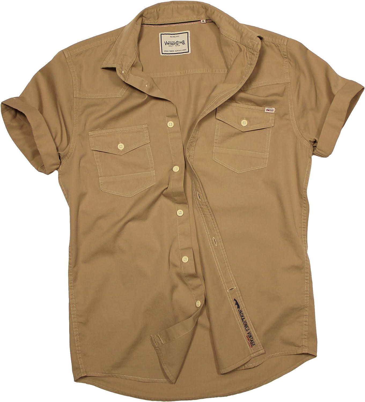 JACK & JONES - Camisa Casual - Básico - con Botones - Manga Corta - para Hombre: Amazon.es: Ropa y accesorios