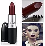 Mac Diva Matte Lipstick - 3 Grams