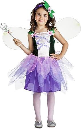 Disfraz de Hada flores para niña: Amazon.es: Juguetes y juegos