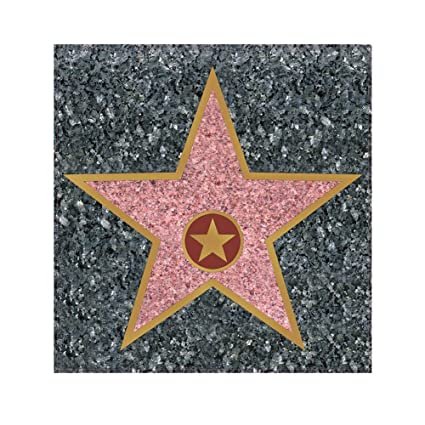 Amazon Com Peel N Place Star Hollywood Walk Of Fame Novelty Cling